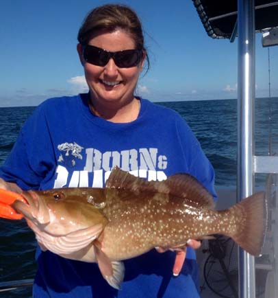 Offshore Red Grouper