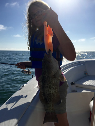 Angling Adventures Gag Grouper